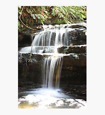 Leura Cascades, Blue Mountains, NSW Photographic Print