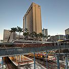 Central Station • Brisbane • Queensland by William Bullimore