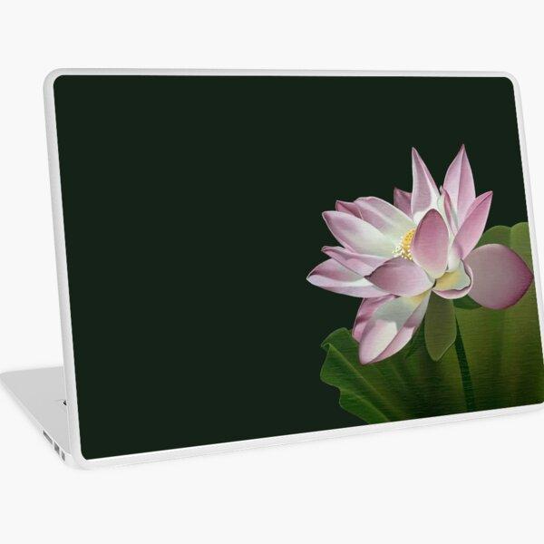 Lotus Flower in the Sun Laptop Skin