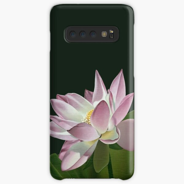 Lotus Flower in the Sun Samsung Galaxy Snap Case