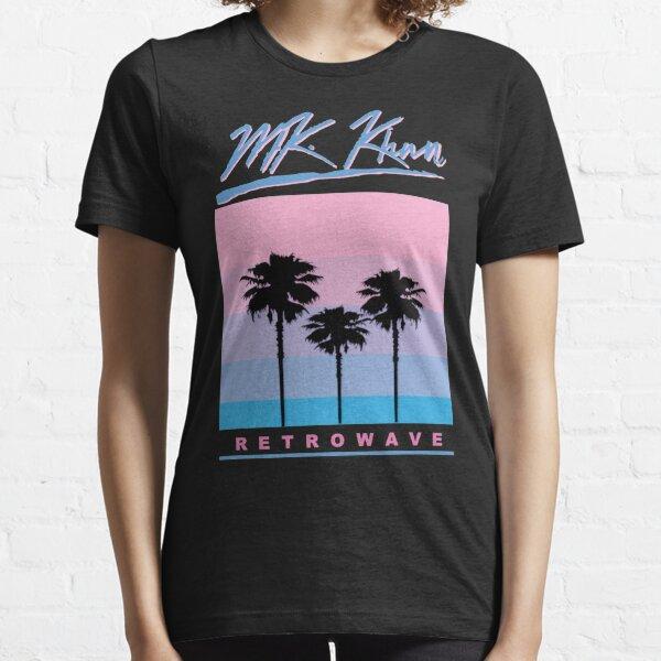 Retrowave Skyline Essential T-Shirt