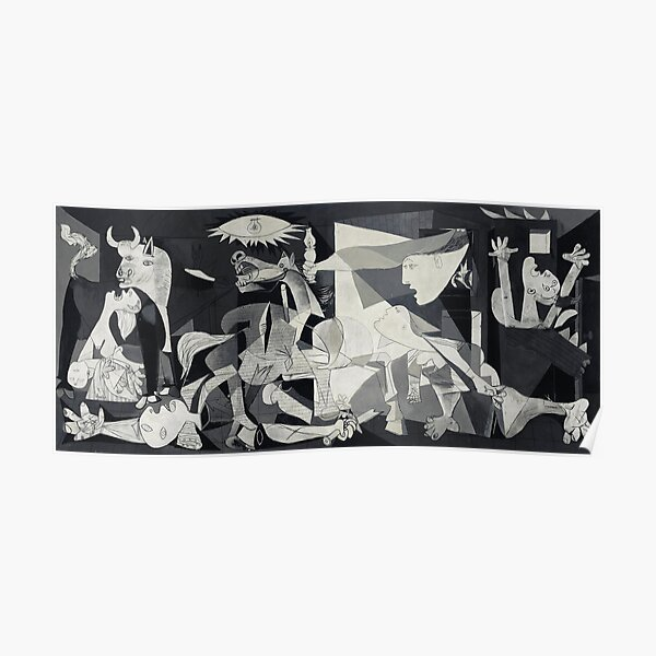 Picasso - Guernica Poster