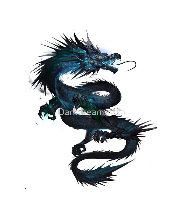 Coque Et Skin Adhesive Ipad Dragon Chinois Tatouage Chinese Dragon Tattoo T Shirt For Dragon Lover Par Darkdreamer85 Redbubble