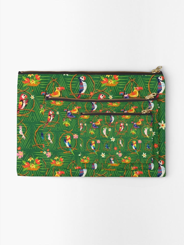 Alternate view of Enchanted Tiki Room Zipper Pouch