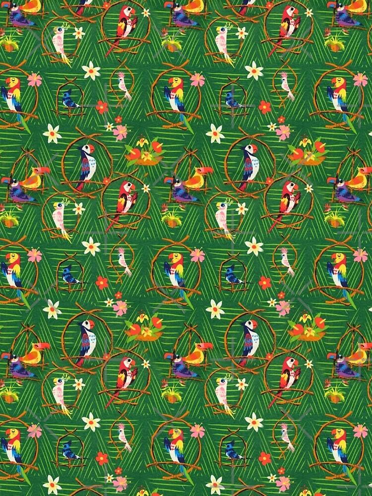 Enchanted Tiki Room by Disney1955Fan
