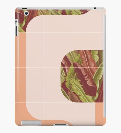 Mid-Century Tropical Mood #redbubble #tropical iPad Case/Skin