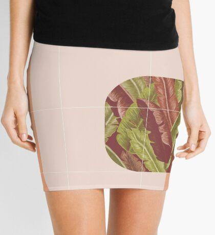 Mid-Century Tropical Mood #redbubble #tropical Mini Skirt