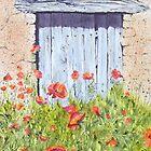 Old Barn Door, Chez Bourret, France by FranEvans