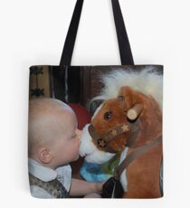 Young horsemanship Tote Bag