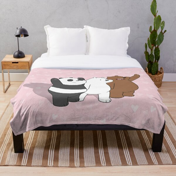 We Bare Bears  Throw Blanket