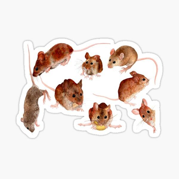 A Medley of Mice Sticker