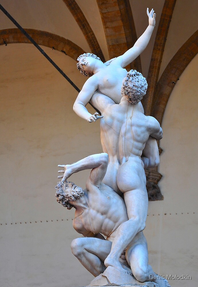 "Giambologna's ""Rape of the Sabine Women"" by Denis Molodkin"