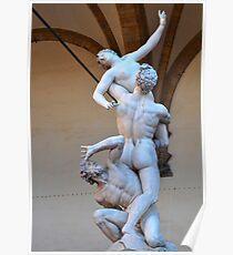 "Giambologna's ""Rape of the Sabine Women"" Poster"