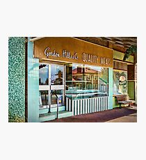Crookwell Quality Meats and Country Deli Photographic Print