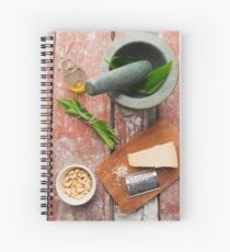 Wild garlic pesto Spiral Notebook
