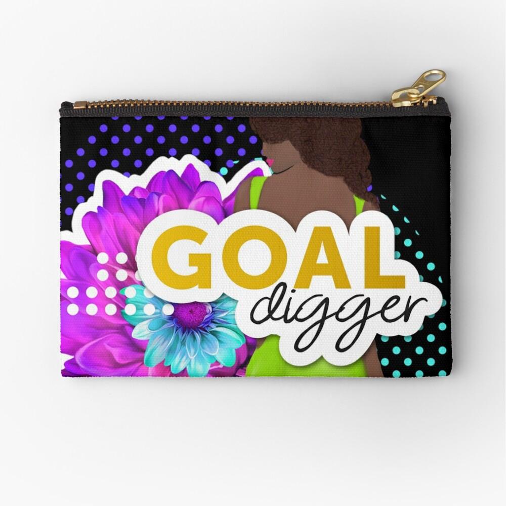 Goal Digger Zipper Pouch