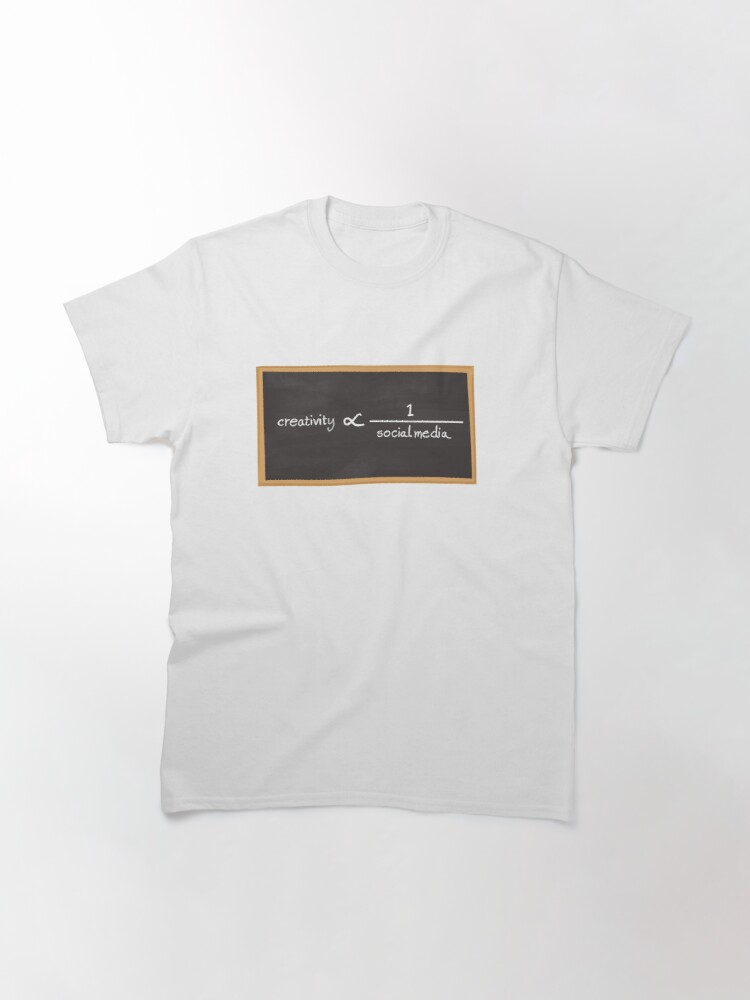 Alternate view of Creativity and Social media Classic T-Shirt