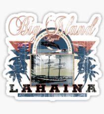 lahaina hawaii Sticker