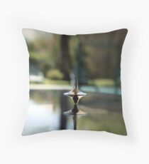 Inception Spinning Top Throw Pillow
