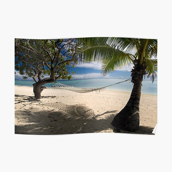 Relax - Aitutaki Poster