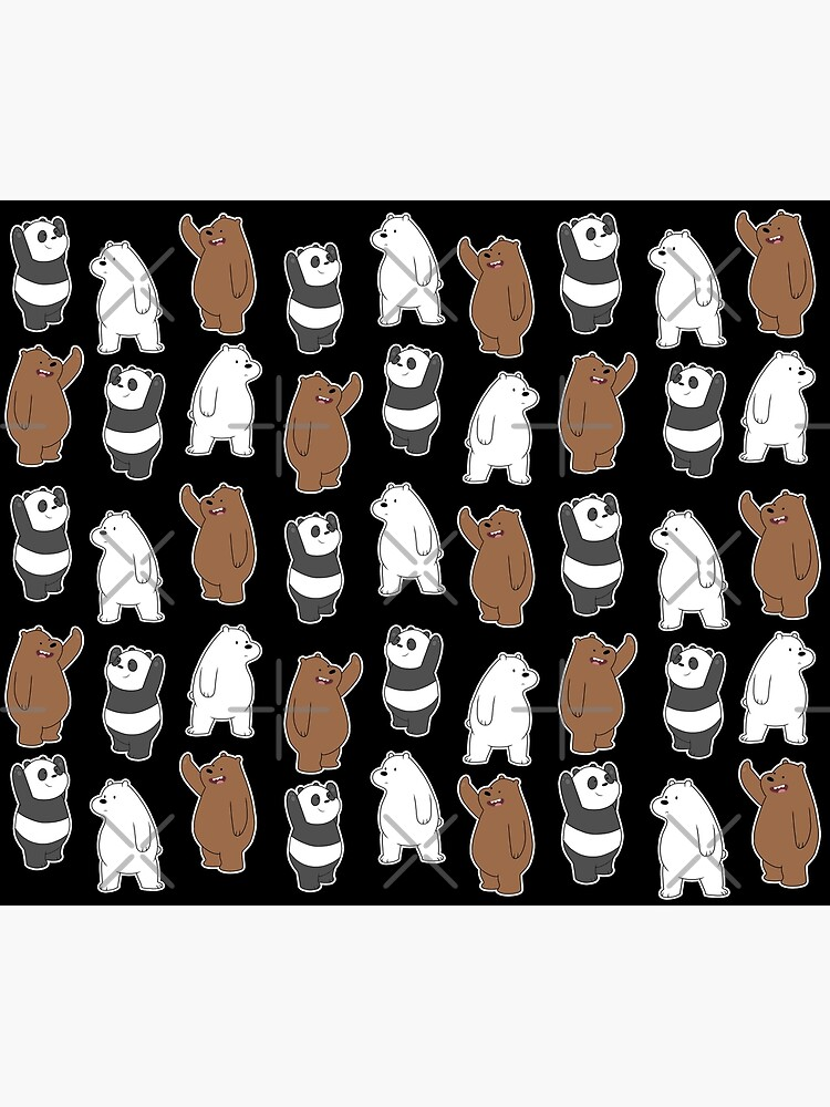 We Bare Bears  Pattern by ValentinaHramov