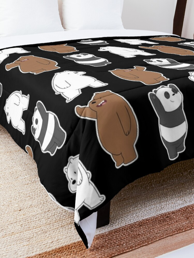 Alternate view of We Bare Bears  Pattern Comforter