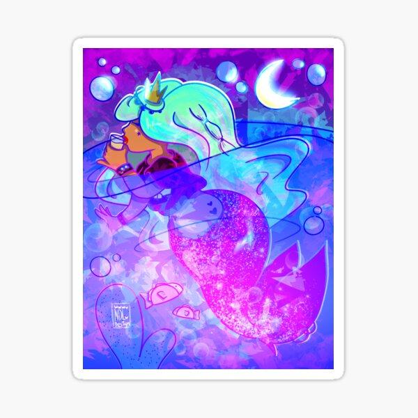 Cinco de Mayo Mermay Mermaid 3 Sticker