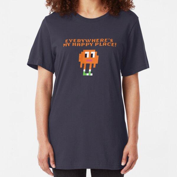 8bit Darwin Quote Slim Fit T-Shirt