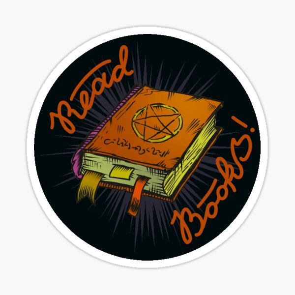 Read Books! Sticker
