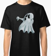 Halloween Booing Ghost Classic T-Shirt