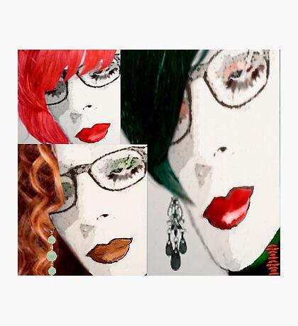 CollageMonAmour (I'm a manipulative and... i'm proud) Photographic Print