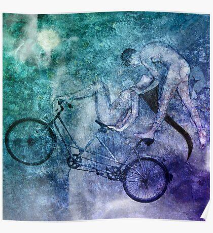 Tandem Bike Lucid Mutual Dreaming Poster
