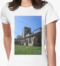 St Wilfrid's Church, Ribchester Womens Fitted T-Shirt