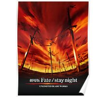 Fate/Stay Night UBW Poster