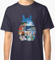 Totoro-Hayao Miyazaki Films Classic T-Shirt