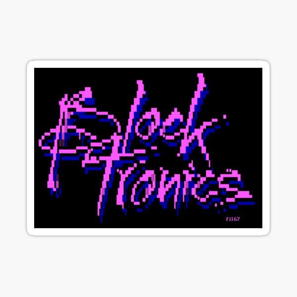 Blocktronics 1987 Sticker