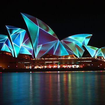 Sydney Vivid Festival 2011 - Opera House by martynbaker52