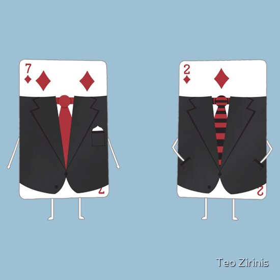 TShirtGifter presents: Suited Cards