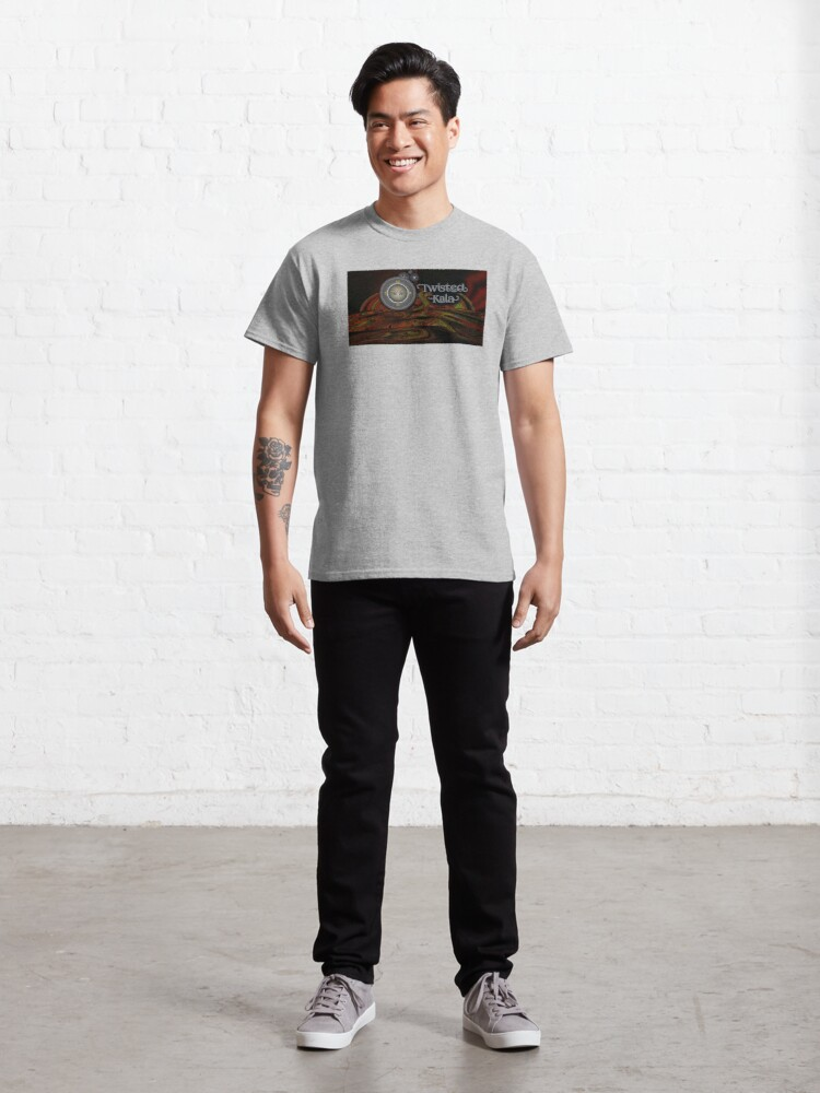 Alternate view of Twisted Kala - Behind the Time! Classic T-Shirt