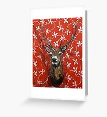 Girly Trophy Greeting Card