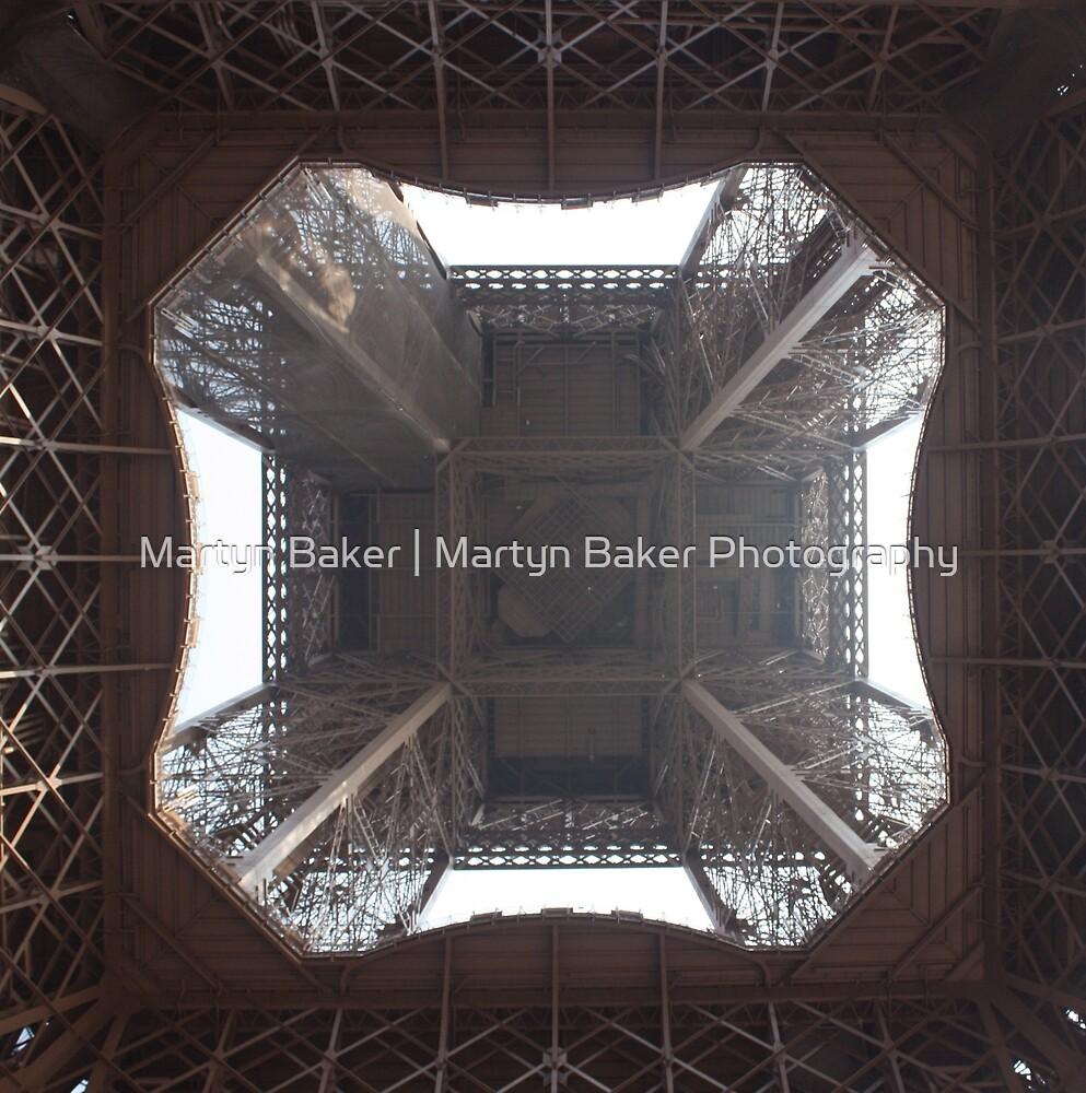 Under the Eiffel Tower by Martyn Baker   Martyn Baker Photography