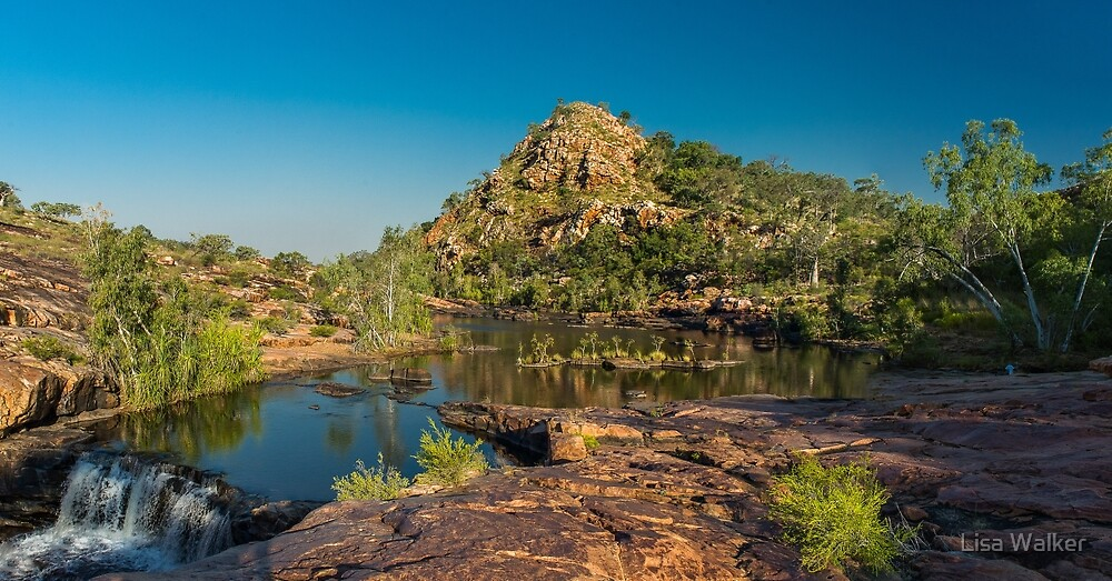 Bell Gorge, The Kimberly, Western Australia by Lisa Walker