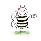 You've Got Mail Bee by booksforbees