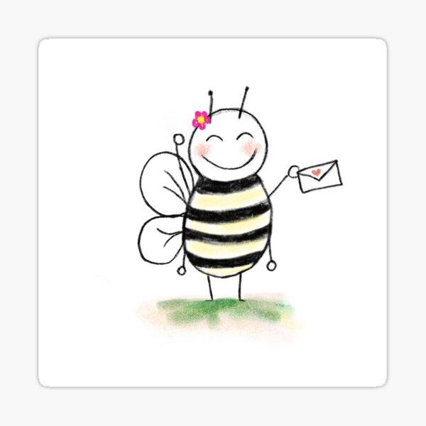You've Got Mail Bee Sticker