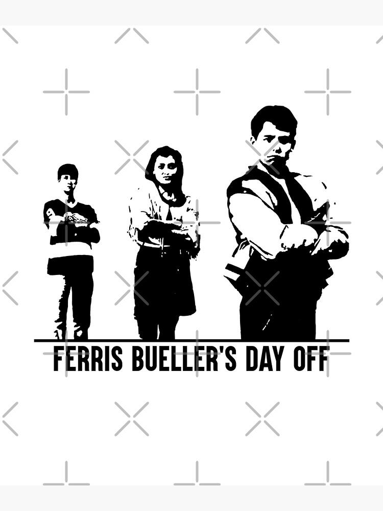 Ferris Buellers Ruhetag - Kader von BadgerofWater