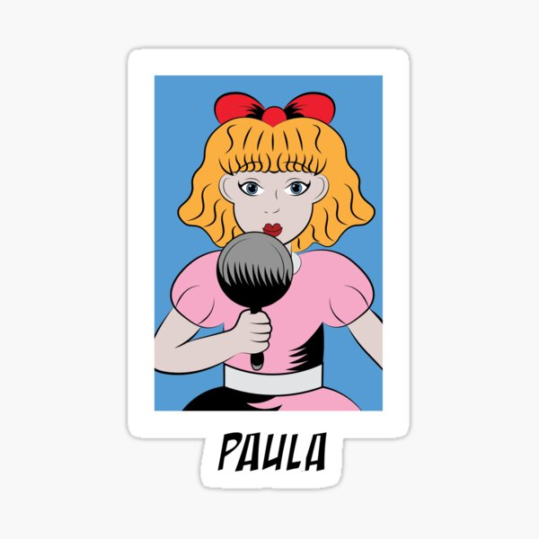 Paula EarthBound Sticker