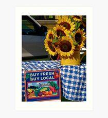 Buy Local Art Print