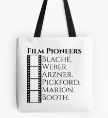 Historic Women Film Pioneers Tote Bag