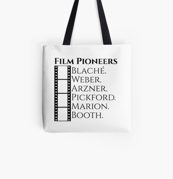 Historic Women Film Pioneers All Over Print Tote Bag