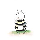Writing Bee by booksforbees